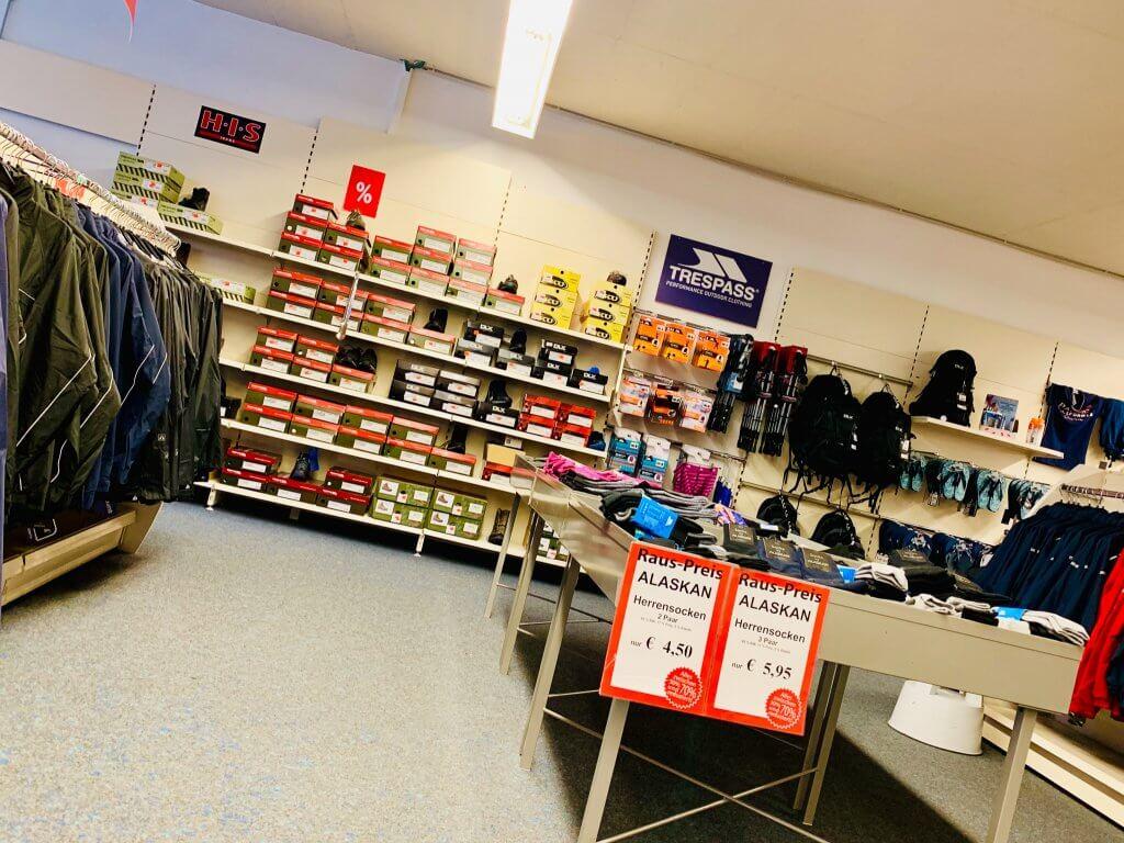 Herstellerverkauf Schwangau Galerie Schuhe