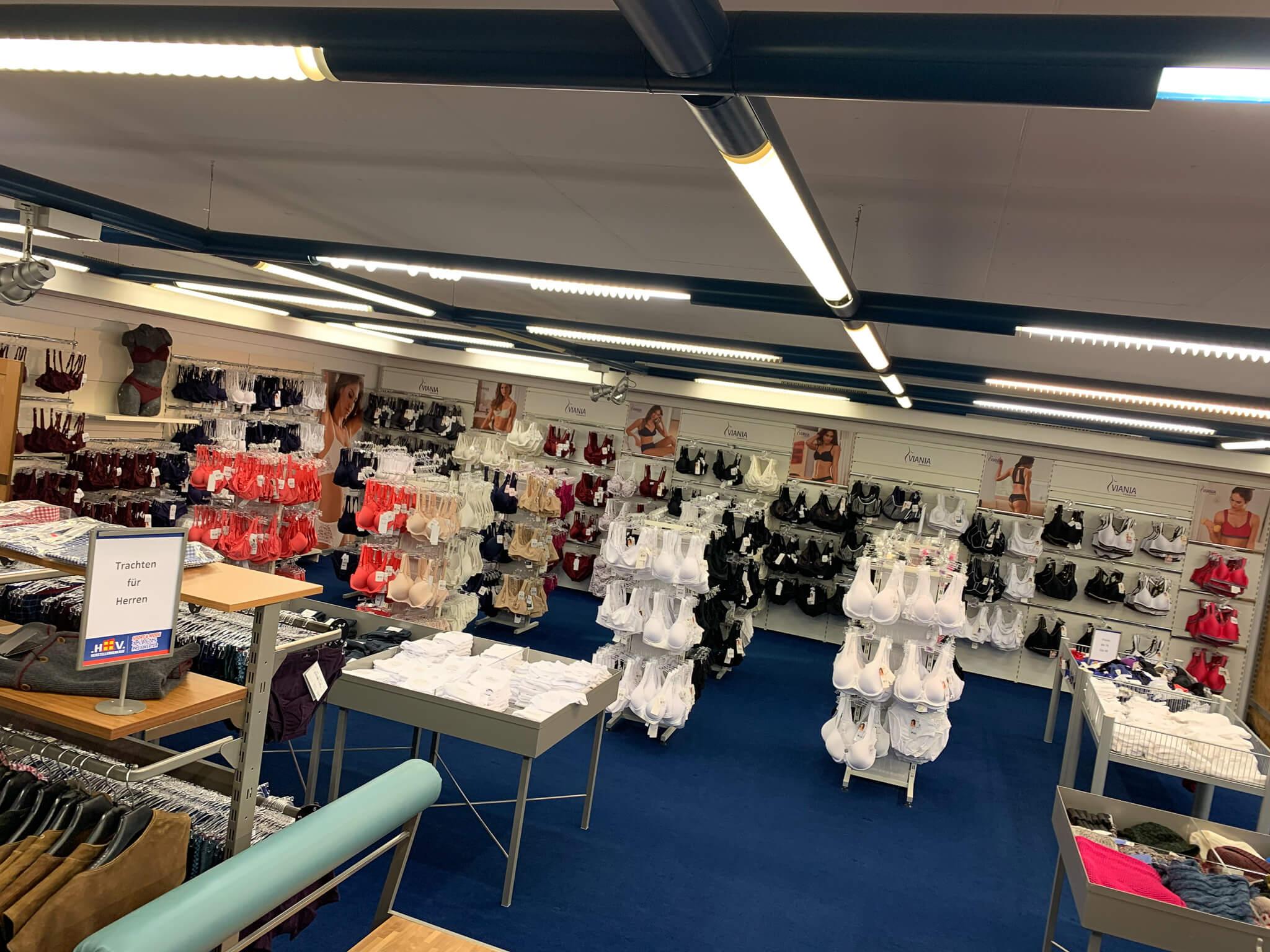 Herstellerverkauf Bad Hindelang Wäsche Galerie